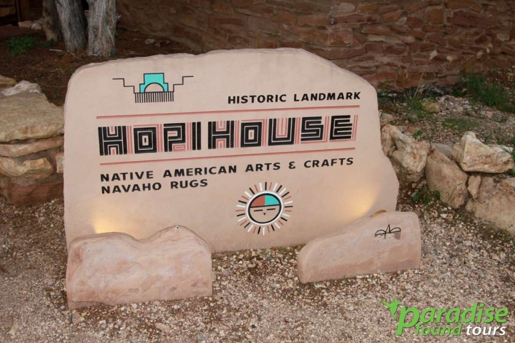 The Hopi House is one of the South Rim's most intriguing buildings within Grand Canyon Village