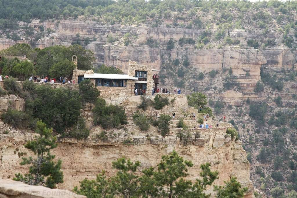 Beautiful view from the south rim trail of the Lookout Studio