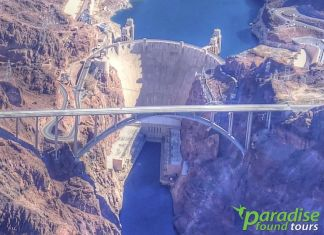A great view from above Hoover Dam