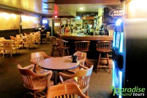 A photo inside the Bright Angel Bar at the South Rim of the Grand Canyon.