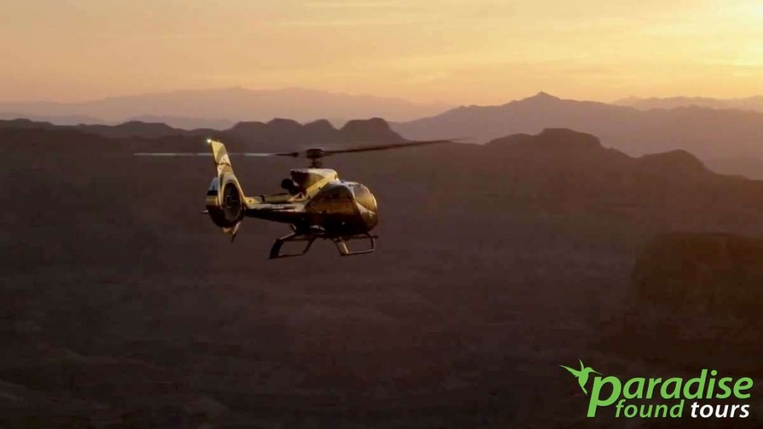 Sunset Grand Canyon Helicopter Tour  Paradise Found Tours